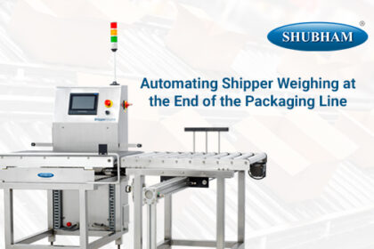 Automating Shipper Weighing at the End of the Packaging Line